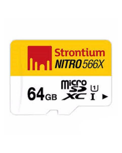 Thẻ nhớ Strontium MicroSD Nitro 64GB 566X