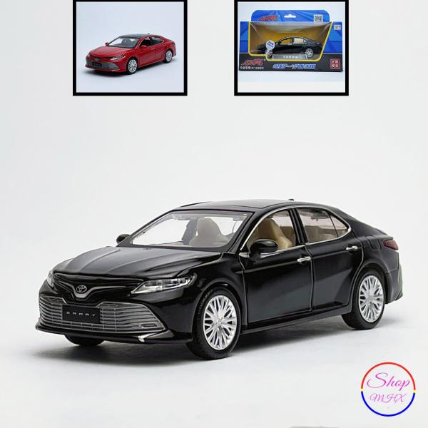 Xe mô hình sắt Toyota Camry 2.5 TẶNG KÈM BIỂN SỐ tỉ lệ 1:32