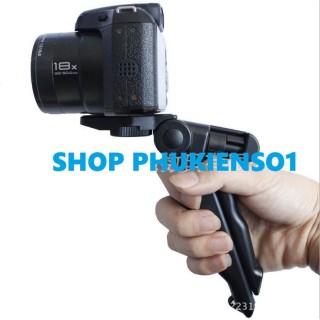 Giá Đỡ 3 Chân Kiêm Tay Cầm Camera Gopro Máy Ảnh Điện Thoại Có Thể Gập Lại Gọn Nhẹ Tiện Dụng thumbnail