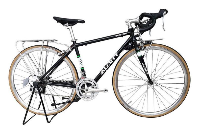 Phân phối Xe đạp cuộc Alcott Race 7000 Classic đen