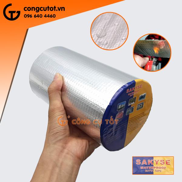 Keo chống dột, chống thấm Nhật Bản SAKYSE - Băng keo chống dính đa năng khổ 200mm x 5m