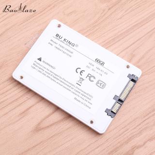 Baoblaze SSD-H2 Ổ Cứng Thể Rắn Nội Bộ 2.5 SSD SATA III Cho Máy Tính Để Bàn Máy Tính Xách Tay 60GB thumbnail