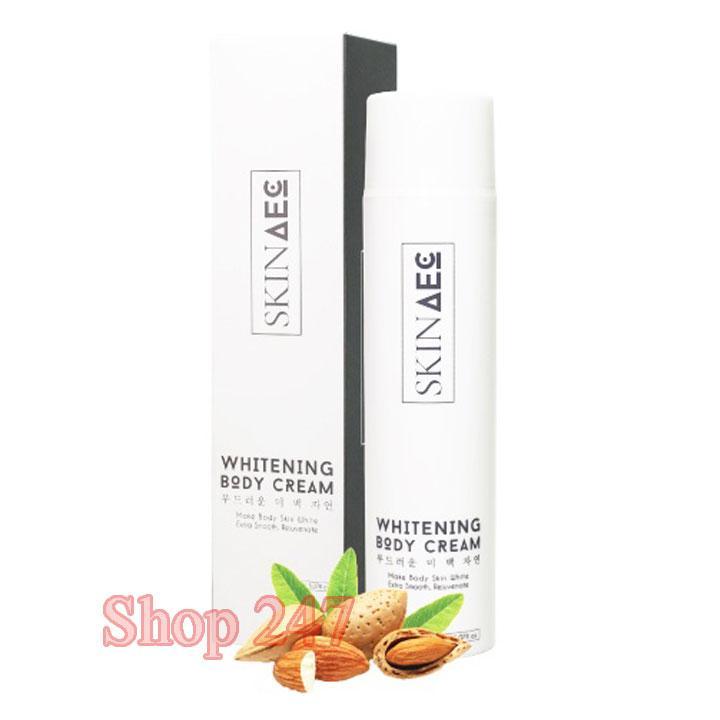 Kem dưỡng trắng toàn thân Ban đêm Whitening Body Cream Skin AEC 150ml tốt nhất