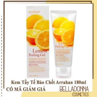 Kem Tẩy Tế Bào Chết Và Làm Mềm Da Arrahan Pure Natural Clean Care Lemon Peeling Gel 180ml thumbnail