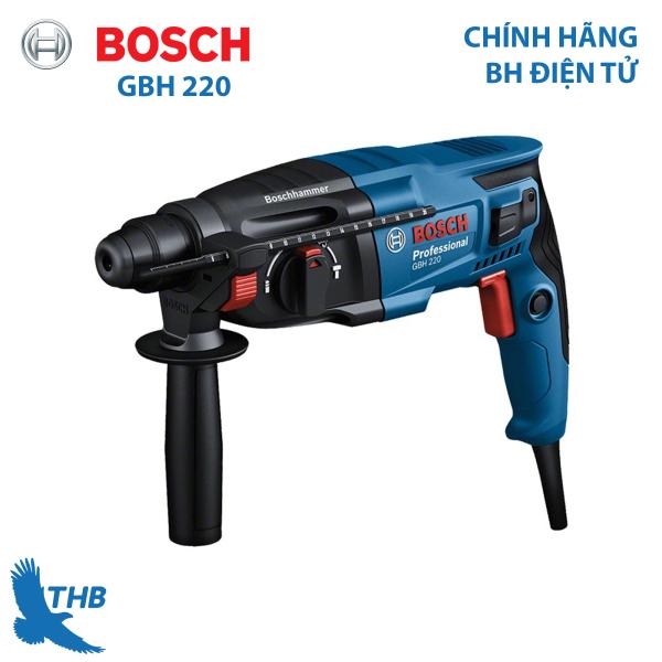 [Trả góp 0%] Máy khoan búa Bosch GBH 220