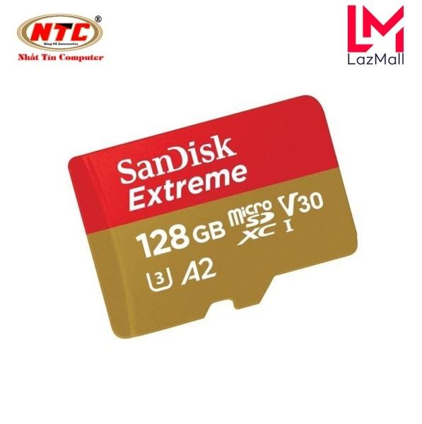 Thẻ Nhớ MicroSDXC SanDisk Extreme 128GB V30 U3 4K A2 R160MB/s W90MB/s - No Adapter (Vàng)