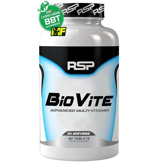 RSP BioVite Multivitamin – Bổ Sung Vitamin Tổng Hợp và Khoáng Chất 90 viên nhập khẩu