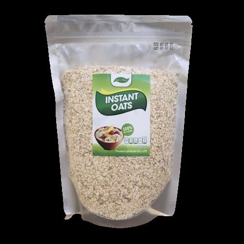 Yến mạch instant oats cán vỡ túi 500g