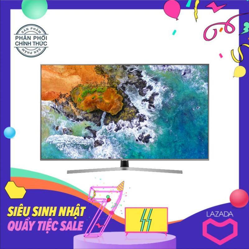 Bảng giá Smart Tivi Led Samsung 43 inch Ultra HD 4K - Model UA43NU7400 (Đen) (NEW 2018) Tích hợp DVB-T2, Wifi