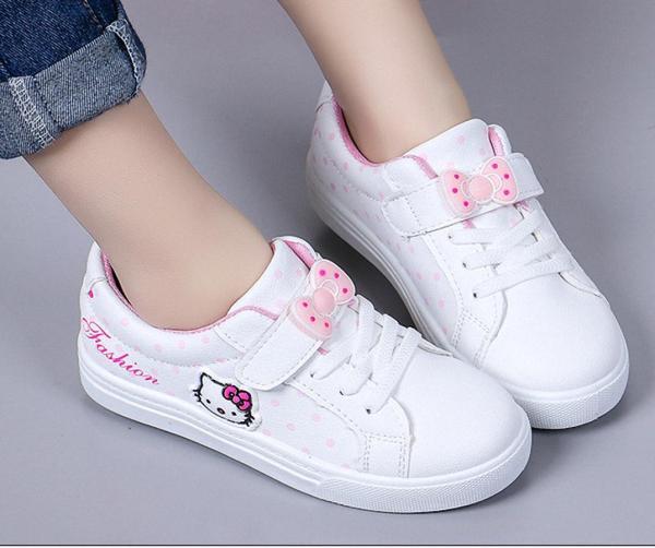Giá bán Giày thể thao Hello Kitti  phong cách hàn quốc bé gái từ 4  - 13 tuổi  - TT05