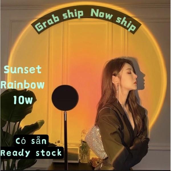 Bảng giá Đèn Hoàng Hôn, Sunset, TIKTOK Đèn chiếu cầu vồng trang trí, chụp hình, quay TikTok hot trend tiết kiệm chi phí, ánh sáng lớn