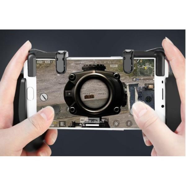 Bộ 2 Nút Bấm Cơ K01 Hỗ Trợ Chơi Game PUBG Mobile Ros Mobile