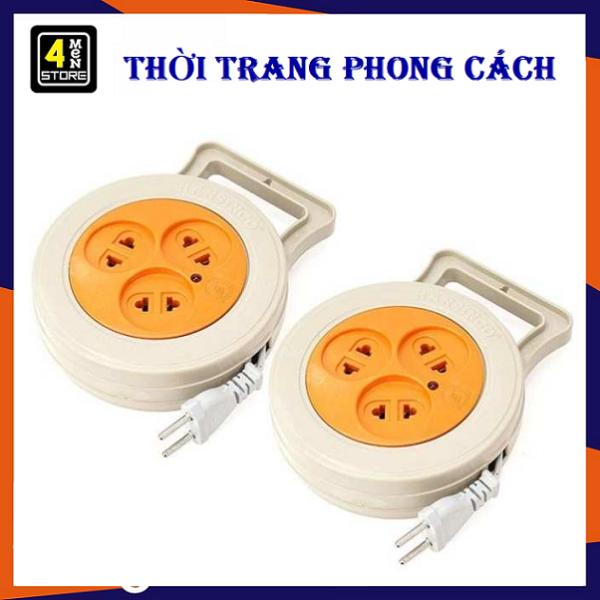 [HCM]⚡ Giá Sỉ ⚡ Ổ cắm điện tròn 3 lỗ - Dây Dài 5m giá rẻ