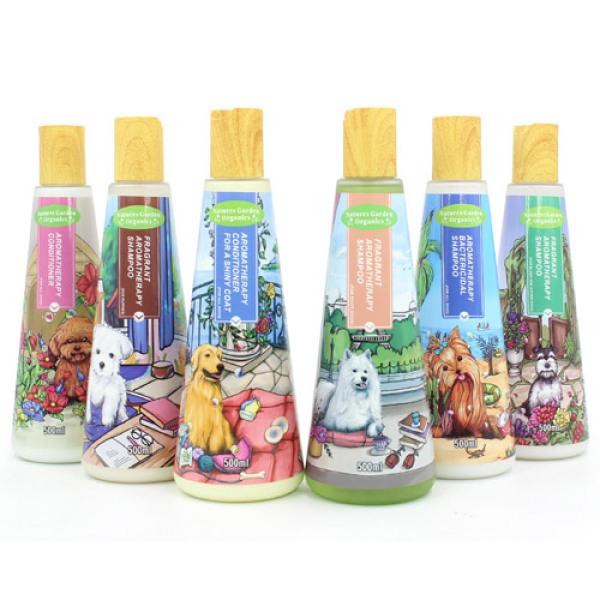 Sữa Tắm Cho Chó Mèo Nước Hoa Spirit Nắp Gỗ 500ml Khử Mùi Hôi, Hương Thơm Lâu