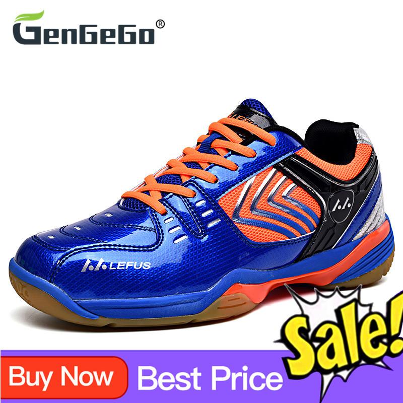 Giày Thể Thao GenGeGo Cho Nam Và Nữ, Giày Chơi Cầu Lông, Giày Tập Luyện, Thoáng Khí, Chống Trượt
