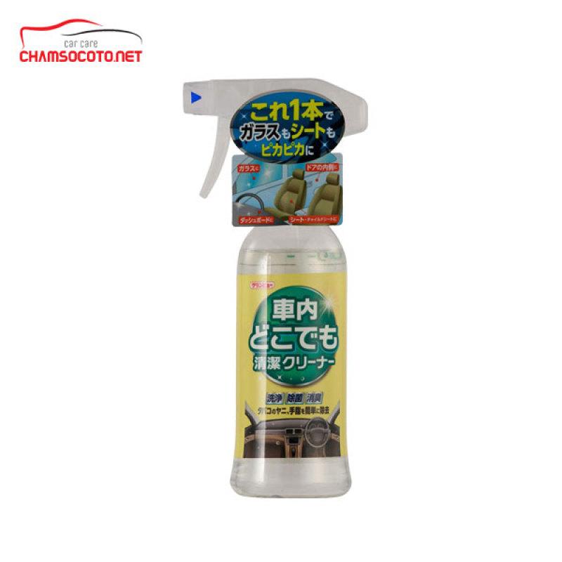 Bình xịt vệ sinh nội thất ô tô Nhật Bản 300ml