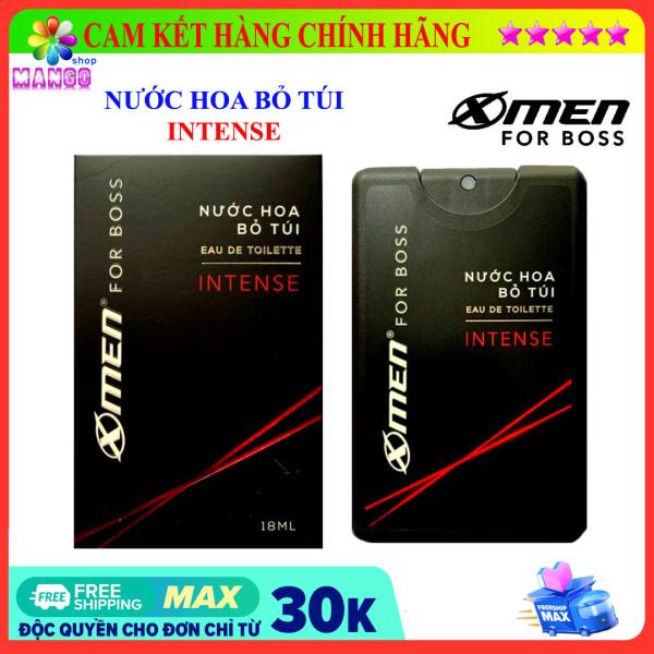 Nước hoa Xmen for Boss Intense / Motion 18ml - Nước hoa bỏ túi Xmen for boss Intense / Motion18ml - Mango Shop