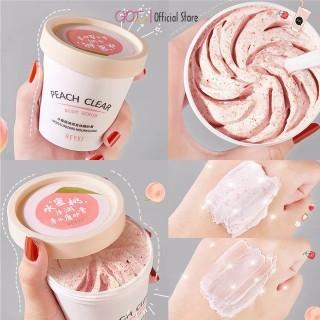 Tẩy da chết vị Đào toàn thân HEYXI Peach Clear Body Scrub Moisturizing Nourishing thumbnail