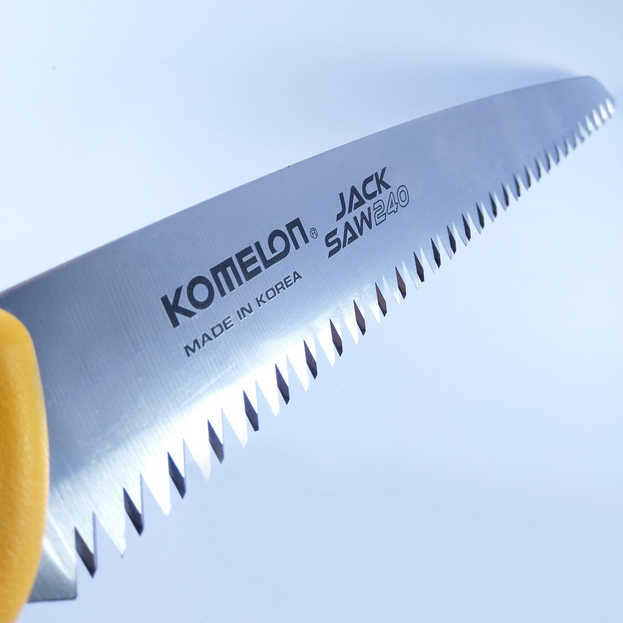 Cưa gỗ cầm tay lưỡi kép FB-240 KOMELON Hàn Quốc