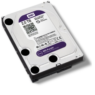 Ổ cứng HDD 2000G(2TB) Western Purple ( Tím ) Chuyên dùng cho camera lưu trữ dữ liệu - Bảo hành 24 tháng 1 đổi 1 thumbnail