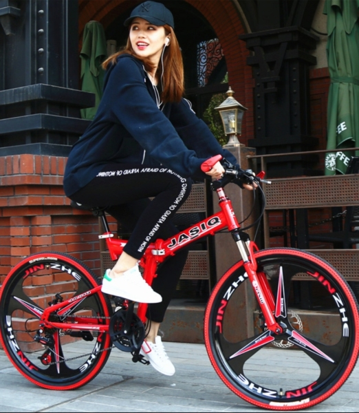 Phân phối Xe đạp gấp hợp kim nhôm, giảm xóc kép siêu nhẹ