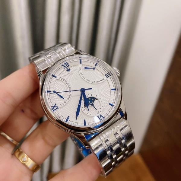 Đồng hồ nam Vacheron Constantin601 cơ Automatic size 38mm bán chạy