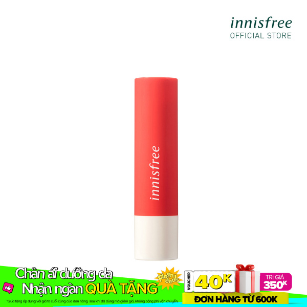 Son dưỡng có màu innisfree Glow Tint Lip Balm #3 3.5g cao cấp