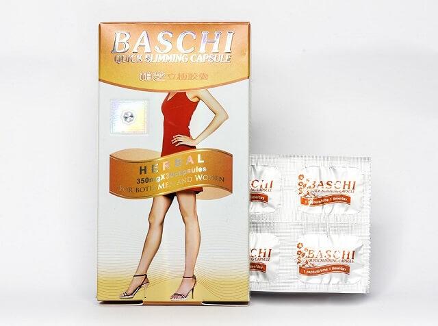 Vien uống giảm mỡ baschicam hộp giấp 30 viên | Lazada.vn