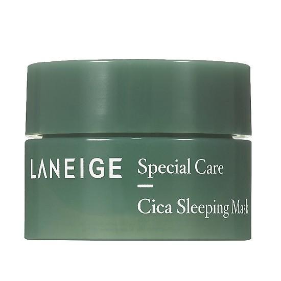 Mặt Nạ Ngủ Giúp Phục Hồi Và Tăng Cường Hàng Rào Bảo Vệ Da Laneige Cica Sleeping Mask 10ml