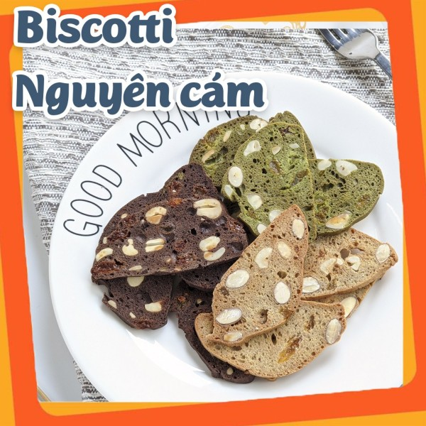 Bánh Biscotii Ăn Kiêng Mix 3 Vị - Vani, Chocolate, Matcha 300g thương hiệu Lanhfoods giúp các bạn có một thân hình cân đối khỏe mạnh
