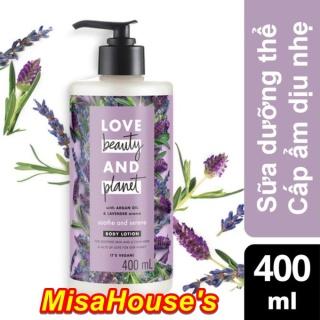 Sữa Dưỡng Thể Dưỡng Ẩm Love Beauty And Planet Soothe & Serene 400ml thumbnail