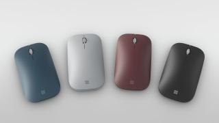 Chuột Microsoft Surface Mobie Mouse Fullbox chính hãng ( Tặng kèm bàn di chuột và bao đựng chuột ) thumbnail