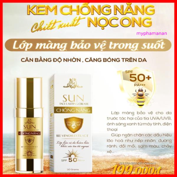 Kem chống nắng chiết xuất nọc ong collagen X3 Đông Anh 50gr - Kem chống nắng X3 Đông Anh chính hãng - Chống nắng nọc ong nhập khẩu