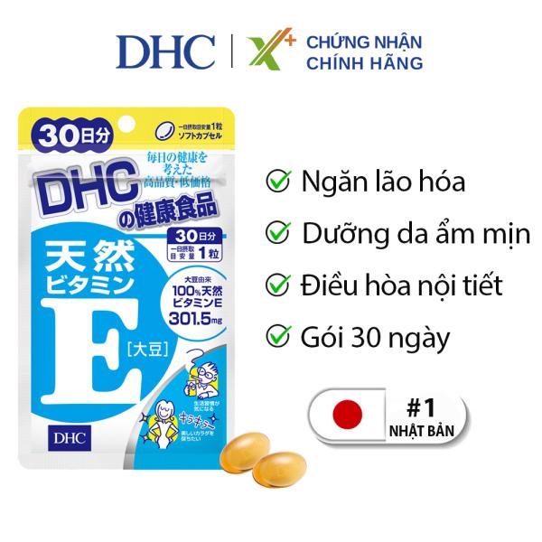 Viên uống Vitamin E DHC Nhật Bản thực phẩm chức năng giúp chống lão hoá, dưỡng da, điều hoà nội tiết 30 ngày XP-DHC-E30