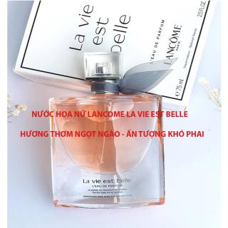 [NƯỚC HOA ĐẲNG CẤP] Nước Hoa Nữ Lancom La Vie Est Bell 75ML Nước Hoa Thời Trang Hương Thơm Quyến Rũ, Ngọt Ngào Ấn Tượng Khó Phai BẢO HÀNH 24 THÁNG thumbnail