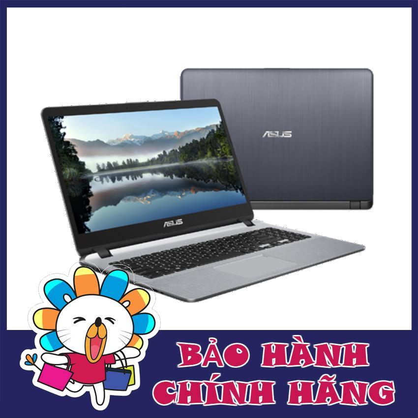 Laptop Asus X507UF-EJ079T i7-8250U, 4Gb, 1Tb, 15 Full HD, Vga 2Gb, Win 10 (Xám) - Hãng phân phối chính thức