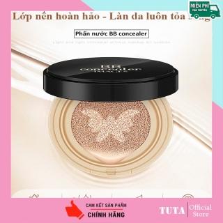 TUTA - Cushion dưỡng ẩm làm sáng da, Phấn nước tươi trang điểm, makeup chi nh ha ng nội địa Trung 15g GM-PN thumbnail