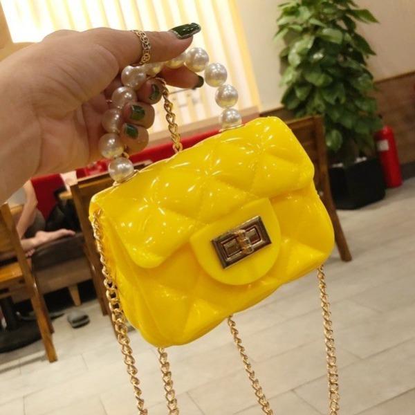 Giá bán Túi xách nữ thời trang túi đeo chéo silicon QC mini dễ thương NT14