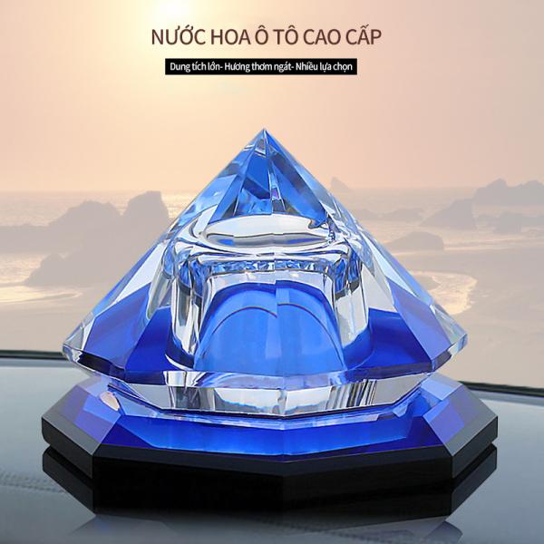 Nước hoa ô tô, lọ nước hoa thủy tinh trên xe ô tô, trang trí xe hơi