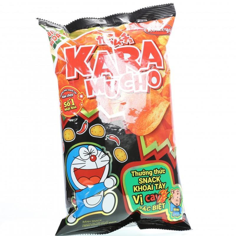 Snack khoai tây Karamucho vị cay đặc biệt gói 85g