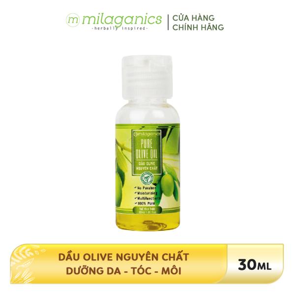 Dầu Olive Nguyên Chất Dưỡng Da - Tóc - Môi MILAGANICS 30ml-100ml