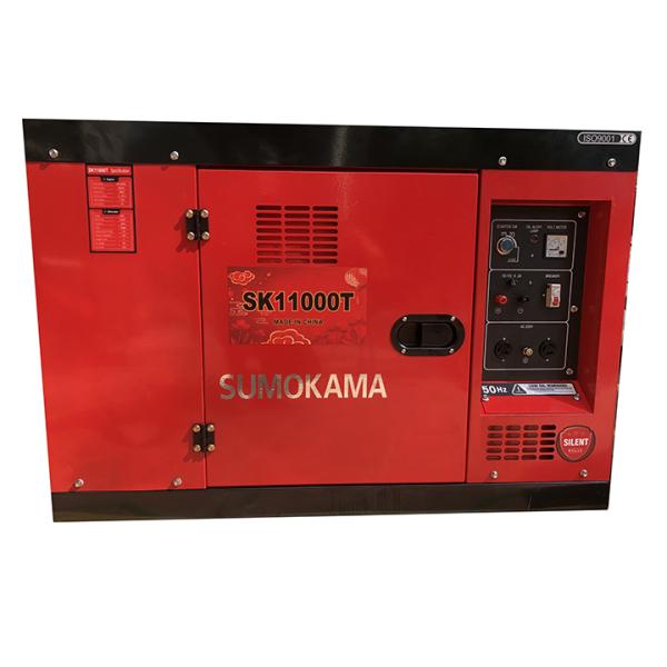 Máy Phát Điện Chạy Dầu 8Kw Sumokama SK11000T