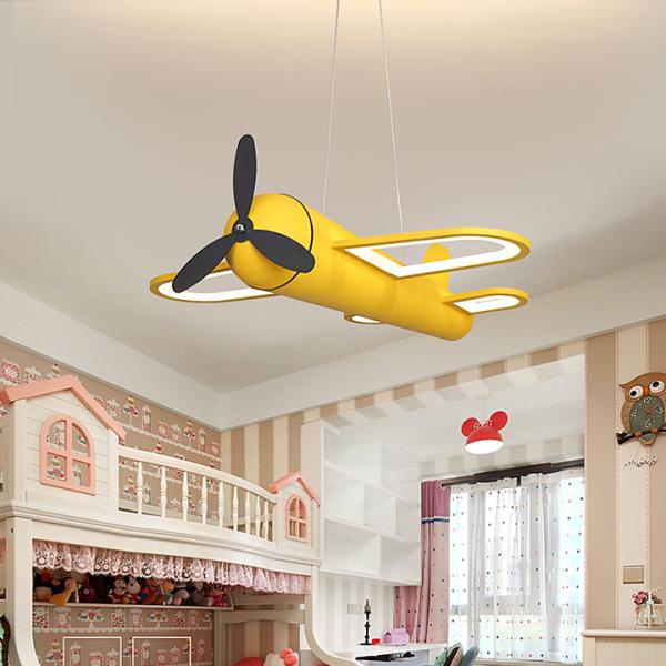 Đèn trùm phi cơ size to 60 x 58 cm đẹp phù hợp bé trai sang trọng PH-D016