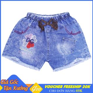 Quần short Jean cho bé gái từ 4-31kg - Chất Jean mềm mại thoáng mát [ ẢNH THẬT 100% DO SHOP CHỤP ] thumbnail