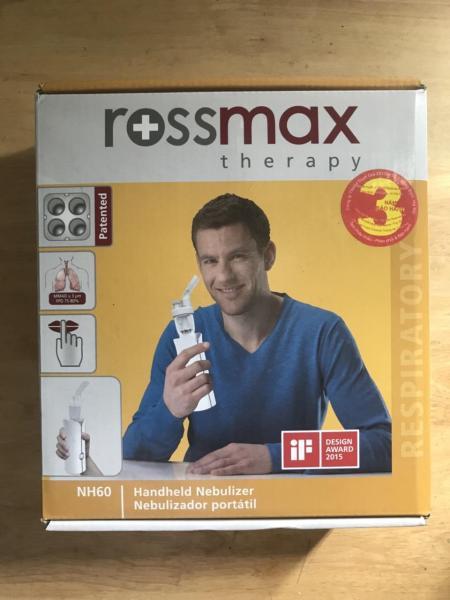 Xông mũi họng Rossmax NH60 Xông cầm tay cao cấp công nghệ Thụy sỹ Bảo hành 36 tháng