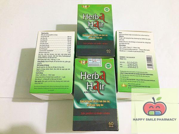 Herba Hair – Viên uống giảm rụng tóc giá rẻ