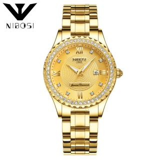 Đồng hồ nữ Nibosi Diamonds 1985 đính đá 99 viên đá thạch anh cao cấp (full hộp đẹp) thumbnail