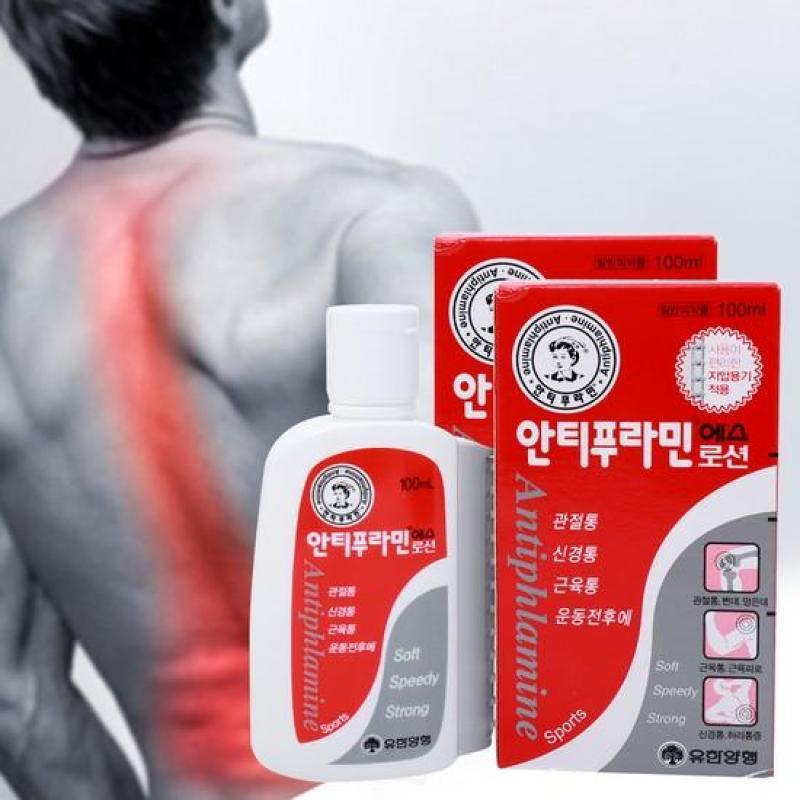 Dầu nóng xoa bóp Hàn Quốc 100ml tốt nhất