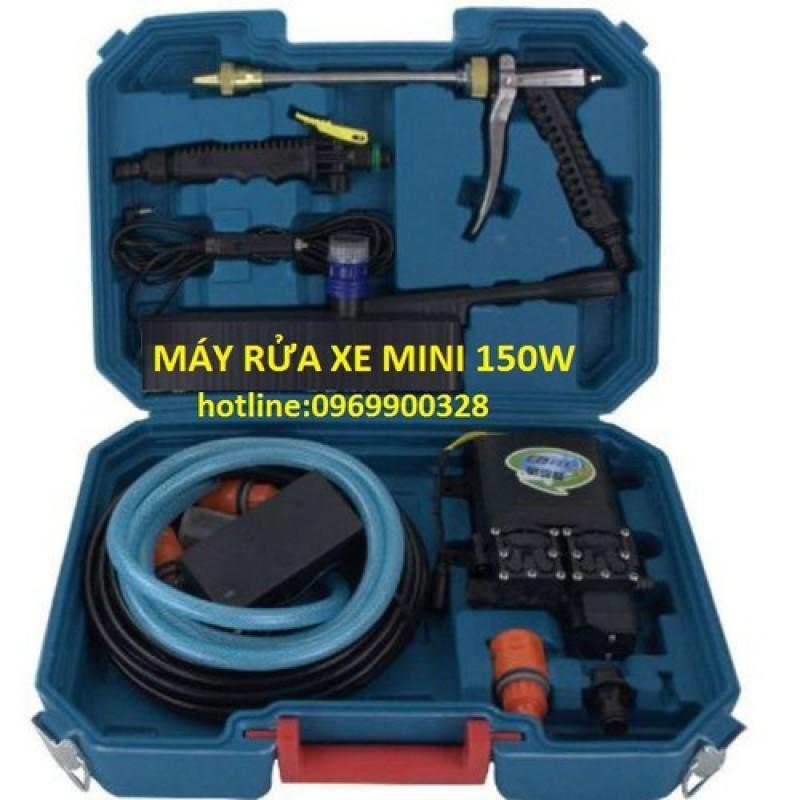 máy xịt rửa xe mini 150w - sdt 003 - MRXMN