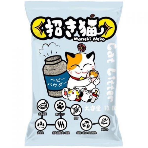 [Lấy mã giảm thêm 30%]Cát Vệ Sinh Mèo Nhật Bản Maneki Neko 5L